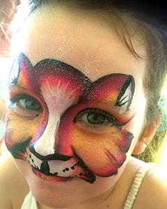 Face Painting Kitty Cat