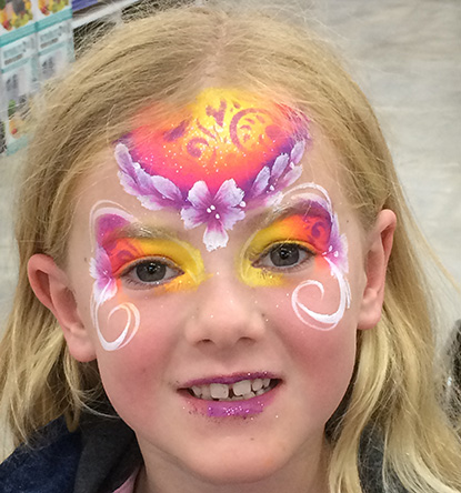 Starry Faces Face Painting